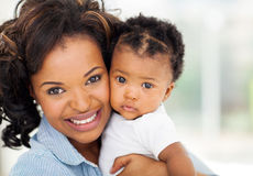 African mom baby Stock Images