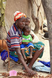 African mother and  children Stock Photography