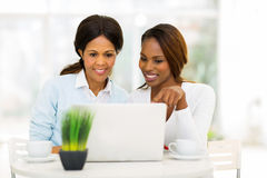 African mother daughter Stock Photo