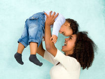 Free African Mother With Happy Baby Royalty Free Stock Image - 39152796