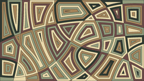 African motif background design. Vector illustration. Abstract d Stock Photography