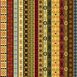 African motifs background Royalty Free Stock Image