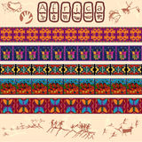 African motifs Royalty Free Stock Photo