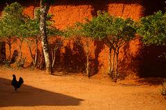 African Mud House. Old Traditional African Mud House Royalty Free Stock Image
