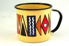 African mug Royalty Free Stock Photography