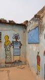 African Murals Stock Photo