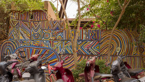 African Murals Royalty Free Stock Image