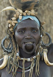 African Mursi People 1 Stock Image