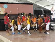 African Music Band at the Festival Royalty Free Stock Photos