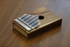African musical instrument calimba. A rare musical instrument. African calimba. Ethnic Instrument Stock Photo