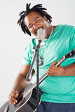 African musician Royalty Free Stock Photography