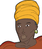 African Muslim Woman Royalty Free Stock Image