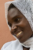 African muslim woman Stock Image