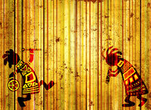 African national patterns Royalty Free Stock Image