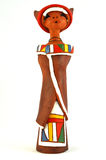 African Ndebele doll Stock Images