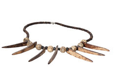 African necklace Stock Images