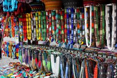 African necklaces Royalty Free Stock Images