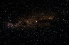 African night sky and stars background Royalty Free Stock Photography