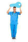 African nurse key Stock Photography