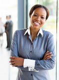 African office worker Stock Photography