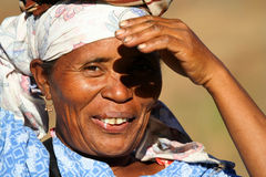 African old woman Stock Photos