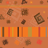 The African ornament. Background decor stock illustration