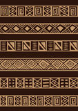 African ornament Royalty Free Stock Images