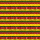 African ornament of horizontal stripes. African ornament multicolored horizontal stripes Royalty Free Stock Images