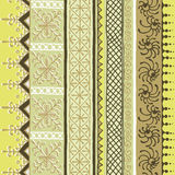 African ornamental pattern Royalty Free Stock Photography