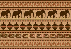 African ornaments Royalty Free Stock Images