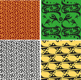 African ornametal texture vector illustration