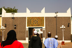 African Palace Gate. Tradional African Palace Gate Emir Kano Nigeria Royalty Free Stock Photos