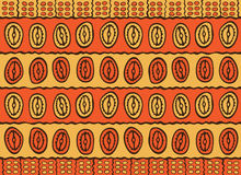 African pattern Royalty Free Stock Images