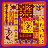 African pattern Stock Photography