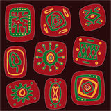 African pattern Royalty Free Stock Photography