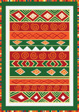 African pattern Royalty Free Stock Image