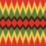 African pattern. Ethnic textile. Ikat print. Vector wallpaper. royalty free stock image
