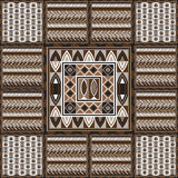 African pattern 60. Geometrical abstract pattern from decorative ethnic ornament elements .  African, Mexican, Turkmen texture (background) for packing, textile Stock Photos