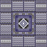 African pattern 31. Geometrical abstract pattern from decorative ethnic ornament elements .  African, Mexican, Turkmen texture (background) for packing, textile Royalty Free Stock Images