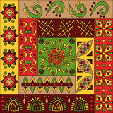 African pattern, seamless Royalty Free Stock Image