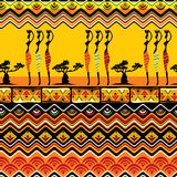 African pattern seamless Royalty Free Stock Images