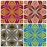 African Pattern Set Stock Photography