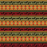 African Pattern vector. Background tribal royalty free illustration