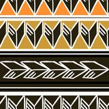 African pattern vector with hand drawn tribal ethnic with feather colorful drawing. Seamless design illustration for fashion. Textile ready for print texture royalty free illustration