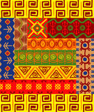 African patterns and ornaments Stock Photography