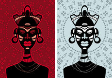 African people. Representative of the tribe royalty free illustration