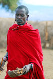 African people from Masai tribe Royalty Free Stock Image