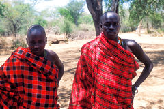 African people: Young Pokot shepherd Royalty Free Stock Images