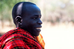 African people: Young Pokot shepherd Stock Image