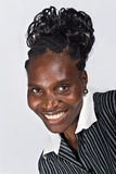 african portrait woman 免版税图库摄影